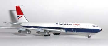 Boeing 707 BA British Airways Cargo Aeroclassics Model Scale 1:400 G-ASZF   E